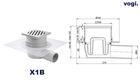 Kratka BOCZNA - INOX DESIGN - syfon MOKRY (2)