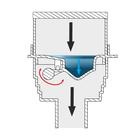 Kratka PIONOWA - INOX DESIGN - syfon SUCHY (3)