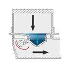 Kratka BOCZNA - INOX DESIGN - syfon SUCHY (3)