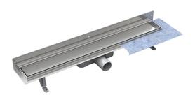 Odpływ PRZYŚCIENNY z rusztem DUO 80cm (pod płytkę)